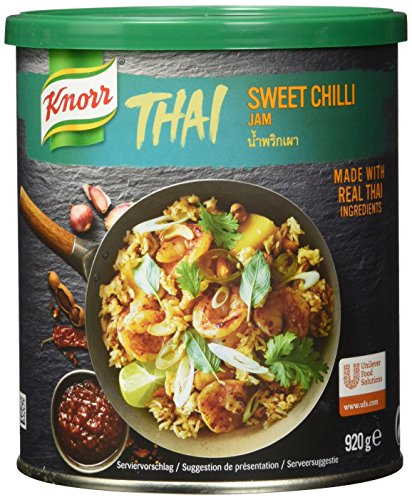 Knorr Thai Sweet Chili Jam (authentisch, thailändisch) 1er Pack (1 x 920g)