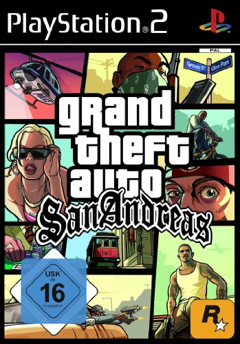 Grand Theft Auto: San Andreas [Software Pyramide] - [PlayStation 2] - Ps2 Andreas San Gta
