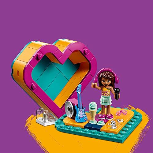 lego friends cuore  LEGO Friends - Scatola del cuore di Andrea, 41354