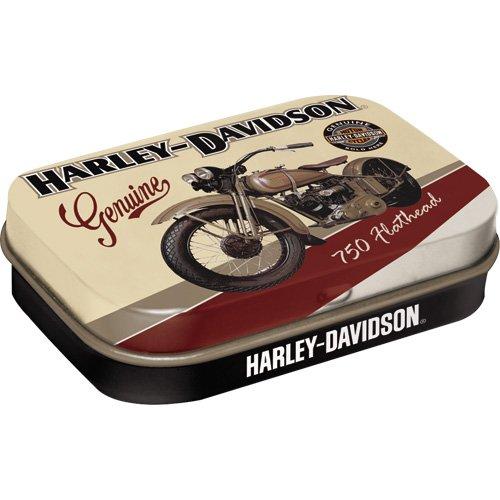 Harley-Davidson - Flathead, Pillendose ()