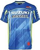 Suzuki - Camiseta - para Hombre Azul M