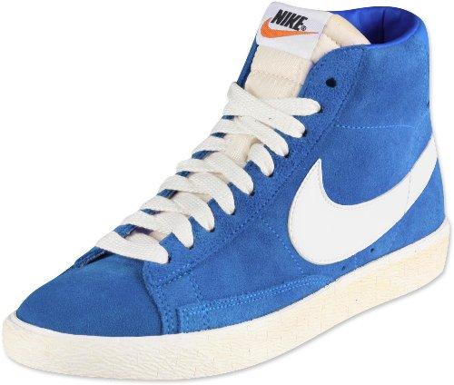 Nike Blazer Hi Suede 344344-414 Homme Chaussures Bleu azul claro