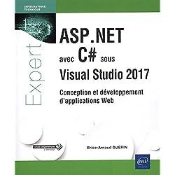 ASP.NET avec C# sous Visual Studio 2017 - Conception et développement d'applications Web