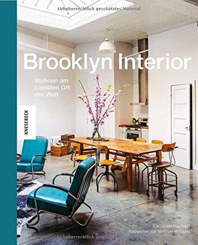 Buchseite und Rezensionen zu 'Brooklyn Interior: Wohnen am coolsten Ort der Welt' von Kathleen Hackett