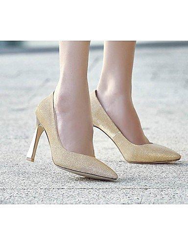 ShangYi Chaussures Femme - Mariage / Bureau & Travail / Soirée & Evénement - Noir / Violet / Argent / Or - Talon Aiguille -Talons / Bottes à la Purple