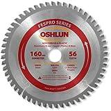 oshlun fespro Allgemeine Zwecke ATB Sägeblatt mit 20mm Arbor für Festool TS 55EQ und ATF 55E, SBFT-160056A