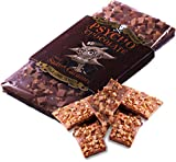 PSYCHO CHOCOLATE - Chilli Salted Caramel with Naga Jolokia (Ghost Pepper) - 3 x 100g Bars