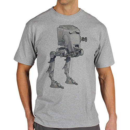 Star Wars Battlefront Jedai Yedi Game Terain Scout Dark Side Background Herren T-Shirt Grau