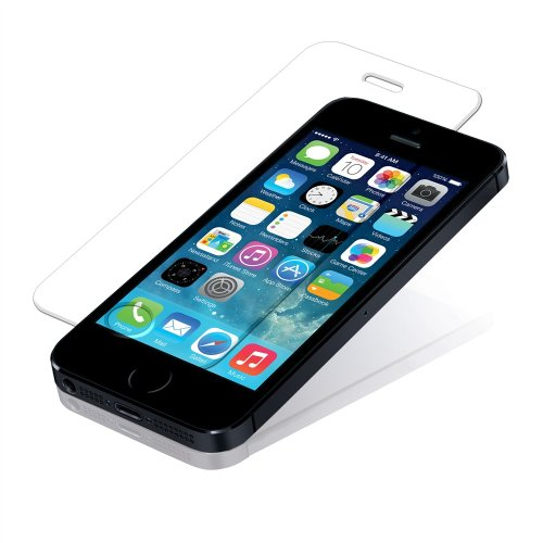 100% original iphone 5/5S/5C tempered glass Screen Protector comes with 30 days money back guarantee