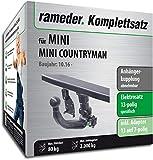 Rameder Komplettsatz, Anhängerkupplung abnehmbar + 13pol Elektrik für Mini Mini Countryman (137296-37158-1)