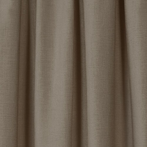 Hamilton McBride Wexford Latte Fully Lined Readymade Curtain Pair 138x108in(350x274cm)