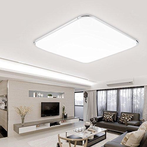 Licht Panel (Hengda® LED Deckenleuchte Deckenlampe Leuchte Modern Angenehmes Licht für Korridor Esszimmer Wohnzimmer (64W Kaltweiß))