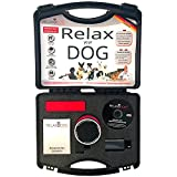 RelaxoPet 100201 Entpannungssystem 'Relaxodog' für Hunde, schwarz/chrom/rot
