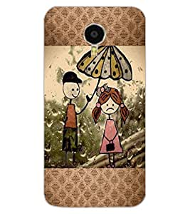 ColourCraft Cartoon Drawing Design Back Case Cover for MEIZU BLUE CHARM NOTE 3