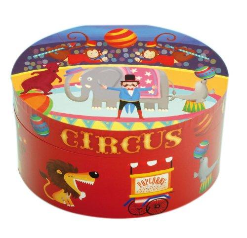 Musicboxworld Spieluhrenwelt Kinder-Schmuckdose Zirkus Spielt 22115