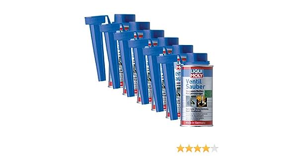 6x Liqui Moly 1014 Ventil Sauber Reiniger Schutz Additiv Benzin 150ml Auto