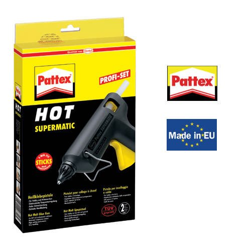 Pattex Heißklebepistole Hot Supermatic PXP06