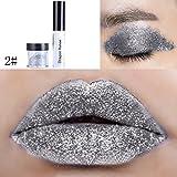 Fix Glue Gel mit Glitter Dust für Face Body Lidschatten Lippen Sparkling Losse Glitter von UmayBeauty