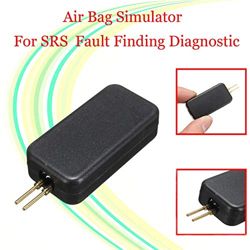 Pennyjie Cars Airbag Simulator Vehicle Air Bag Emulator Bypass SRS Fault Finding Tool