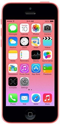 Apple iPhone 5c Smartphone débloqué 4G (Ecran : 4 pouces - 8 Go - iOS 7) Ros