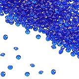 BITFLY 4.5mm Cristalli Scatter Tabella Acrilico Diamonds Cristalli per Party Supplies Decorazioni Costume di Scena Puntelli Vaso Stucchi Decorazioni di Nozze - Blu Reale
