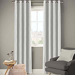 DDECOR Live beautiful Polyester Eyelet Door Curtain (7 ft, Beige)