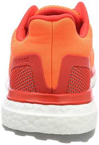 adidas Response, Chaussures de Running Compétition Homme Rouge (Solar Orange/hi-res Red/footwear White)