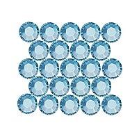 SWAROVSKI ELEMENTS Hotfix Crystal Flatback Rhinestones #2028 SS20 Aquamarine /50