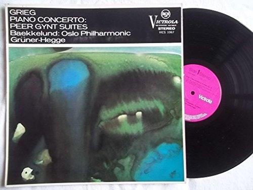 VICS 1067 KJELL BAEKKELUND Grieg Piano Concerto vinyl LP