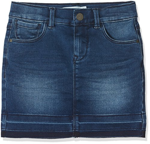 NAME IT Mädchen Rock Nkftenne Dnm Skirt 2007 Noos, Blau (Medium Blue Denim), 116