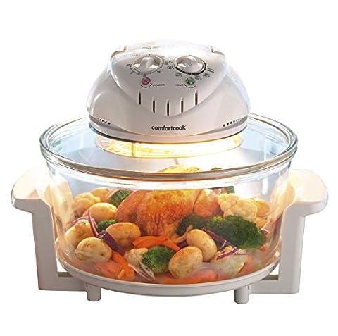 Trebs 21123 Kombi Halogen Ofen, Heißluftgrill für zu Hause oder beim Camping (Inhalt 12 Liter, Temperaturregler, Timer, Selbstreinigungsfunktion)