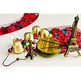 ACTC Vintage Paris Eiffel Tower Decorations Bells Wind Chime