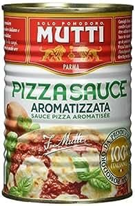 Mutti Pizza Sauce, gewürzt, 4er Pack (4 x 400 g)