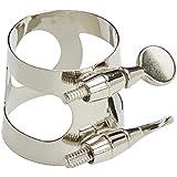 Selmer 2714 - Abrazadera para boquilla de saxofón alto, color plateado