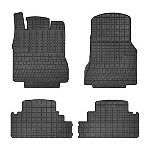 Gummi Auto Matten Fußmatten exakter Passform 4-teilig - Mercedes-benz Gummi-auto-matten