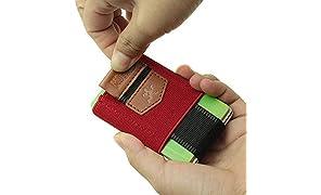 MakakaOnTheRun® Slim Wallet
