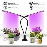 AYIPE Timing Function Dual Head Grow Light Plant Light 18W LED Lights 3