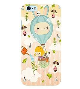 Citydreamz Cute Cartoon Hard Polycarbonate Designer Back Case Cover For Apple Iphone 6/6S