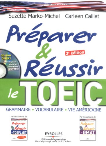 Préparer et réussir le TOEIC (1CD audio)