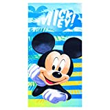 Disney Mickey Mouse Strandtuch/Badetuch Microfaser, Art. 4284, 70 x 140 cm