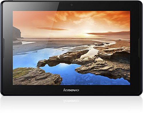 Lenovo A10-70 25,7 cm (10,1 Zoll) HD-IPS Tablet (ARM MTK 8382 QC, 1,3GHz, 1GB RAM, 32GB eMMC, 5MP Cam, GPS, 3G/UMTS, Android 4.2) midnight blau