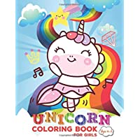 Unicorn Coloring Book for Girls Ages 4-8: Unicorn Coloring Book in Bulk