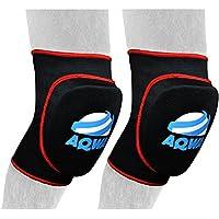 Rodilleras AQWA para la rodilla, almohadillas de espuma, protectores de espuma, para artes marciales, extra-large