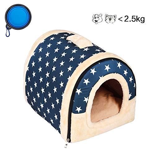 Enko 2 en 1 Cómodo Casa para Mascotas y Sofá