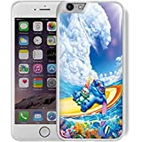 ohana disney stitch surfing for iPhone 6 Plus/6s Plus White case
