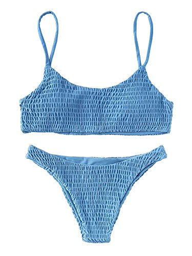 Kata bikini talle alto mujer Traje de Baño dos Piezas ropa de playa Color - Deportiva Ropa De Dama