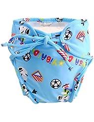 Couches de natation de bébé réglables réutilisables Nappes de bébé Coupe de natation étanches de bébé, # 18