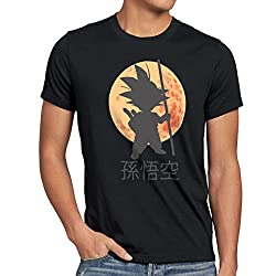 Camisetas La Colmena 4003 albertocubatas Parodie Dragon Ball-Evolutions of Goku T-Shirt