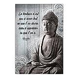 Cadre Bouddha - 23 x 34 cm - Apprécier ce que l