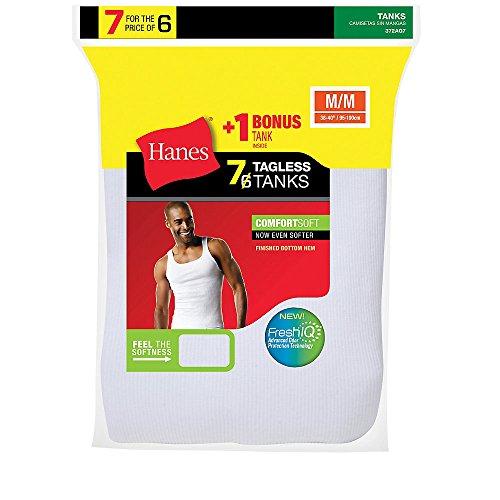 hanes-mens-white-tagless-comfortsoft-a-shirt-undershirt-372ag7-l-white